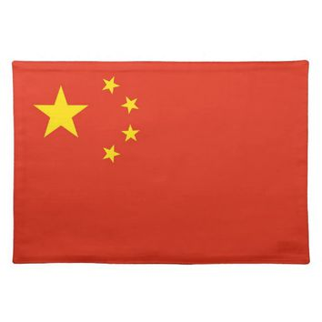 Chinese Flag MoJo Placemat