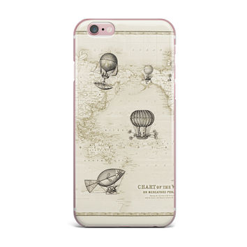 "Catherine Holcombe ""The Southern Route"" Brown White iPhone Case"