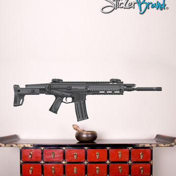 Graphic Wall Decal Sticker ARC Military Weapon Gun #JH175