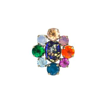EMERY CLUSTER BROOCH