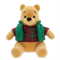 Disney Store Share Magic Winnie the Pooh Holiday Plush Small 9'' New with Tags