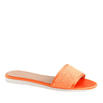 J.Crew Womens Sequin Abbot Slides