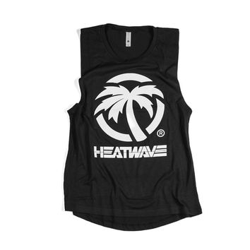 Heat Wave Visual Stacker Ladies Tank Top