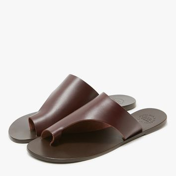 ATP Atelier / Rosa Sandal in Chocolate