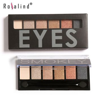 Focallure SMOKEY Professional 6 Colors Eyeshadow Palette