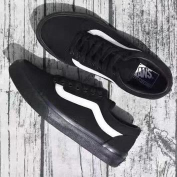 VANS Canvas Old Skool Flats Shoes Sneakers Sport Shoes