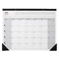 Office Depot Brand Large Monthly Desk Pad Calendar 30percent Recycled 22 x 17 July 2015 June 2016 by Office Depot & OfficeMax