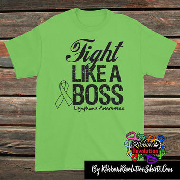 Non-Hodgkins Lymphoma Fight Like a Boss Shirts
