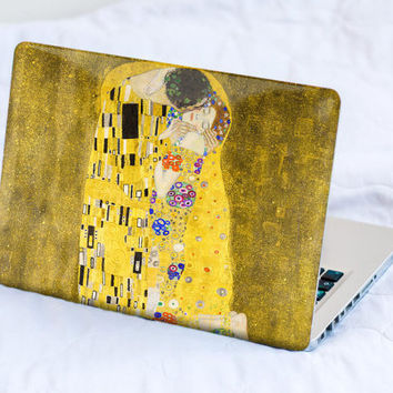 The Kiss of Klimt MacBook Decal Skin MacBook decal sticker MacBook Pro Retina Cover MacBook Air Asus Lenovo Gustav Klimt HP Dell Sony