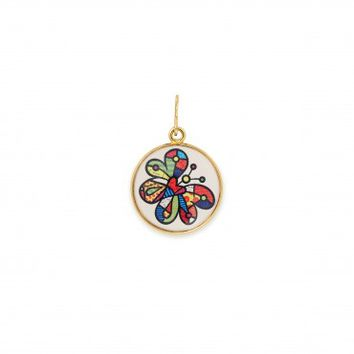 Butterfly Art Infusion Necklace Charm