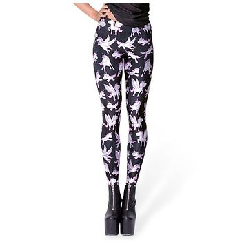 Cute Unicorn Yoga Leggings