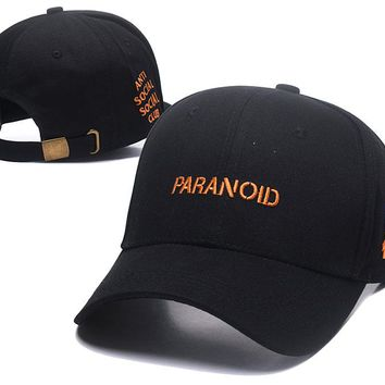 PARANOID Golf Baseball Cap Hat