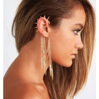 Spiked Cuff Earring