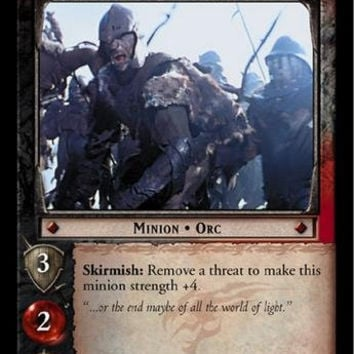 Lord of the Rings TCG - Mordor Soldier - The Return of the King