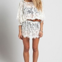 Knot Sisters Lacey Tunic Dress