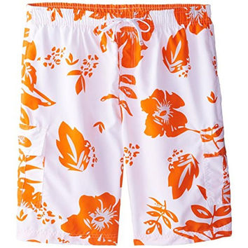 U.S. Polo Assn. Mens Printed Lined Board Shorts