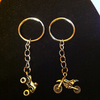 Dirtbike / Fourwheeler keychain