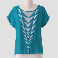 Making Waves Embroidered Top