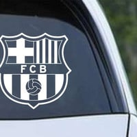 FC Barcelona Inspired Die Cut Vinyl Decal Sticker