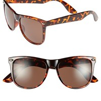 Fantas Eyes Tortoiseshell Pattern 55mm Sunglasses (Juniors)