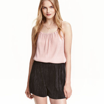 H&M Pleated Shorts $24.99