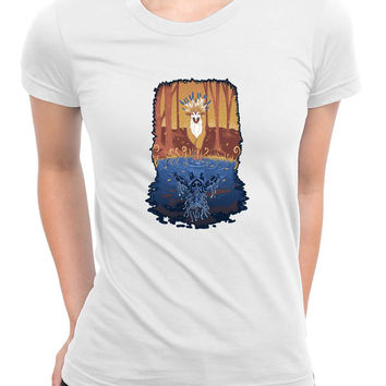 Autumn Forest Spirit Womens T Shirts