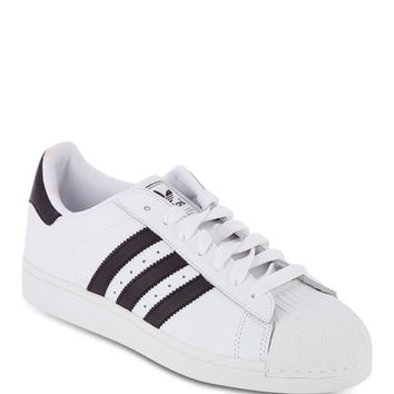 Baskets Superstar II Adidas Originals Blanc - Galerieslafayette.com