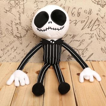 "The Nightmare Before Christmas Jack Plush Toys Soft Stuffed Dolls 16"" 40cm"