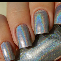 SpectraFlair Topcoat  nail polish 5 ml Dazzling Finish, Holographic