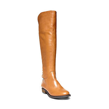Cognac Fashion Riding Boots | Steve Madden NERVES