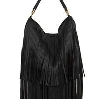Fringe Fantasy Black Purse