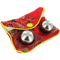 Stainless Steel Benwa Kegel Balls (.75 Inch) with Pouch