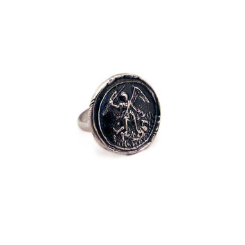 St. Michael the Archangel Wax Seal Ring