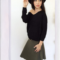 Bad Gal Skirt- Olive