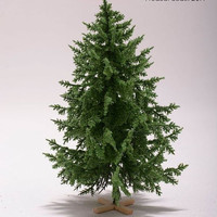 Doll House CHRISTMAS TREE; handmade ; green (DL11)