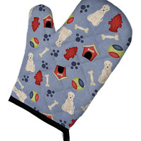 Dog House Collection Soft Coated Wheaten Terrier Oven Mitt BB2674OVMT