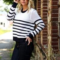 Navy Way {Sweater}