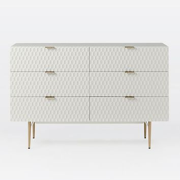 Audrey 6-Drawer Dresser