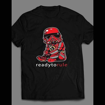 NOTORIOUS BIG PARODY STORM TROOPER READY TO RULE T-SHIRT