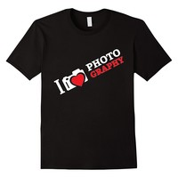 I Love Photography Camera Shirt Gift For Photographer