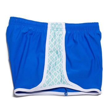 Cloud 9 Shorts in Royal Blue by Krass and Co. - FINAL SALE
