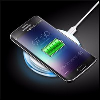 BIBOVI Qi Wireless Charger For iPhone X 8 Plus Samsung Galaxy S6 S7 edge S8 Plus Fast Wireless Charging Phone Chargers