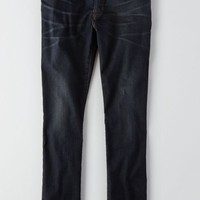 AEO Men's Slim Extreme Flex Jean (Dark Vintage Wash)