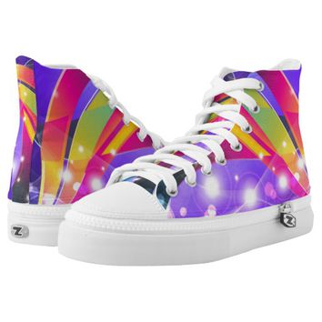 Show Lights And Colors High-Top sneakers