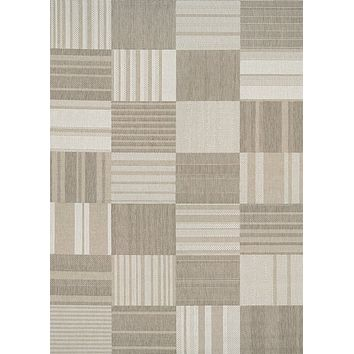 Couristan Afuera Patchwork Area Rug