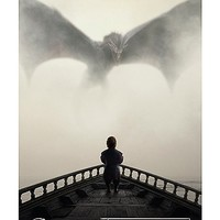 Game of Thrones Lion and Dragons Poster - Spencer's
