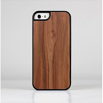 The Smooth-Grained Wooden Plank Skin-Sert Case for the Apple iPhone 5/5s