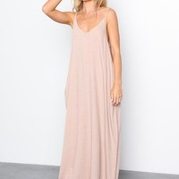 Mila Harem Linen Maxi Dress