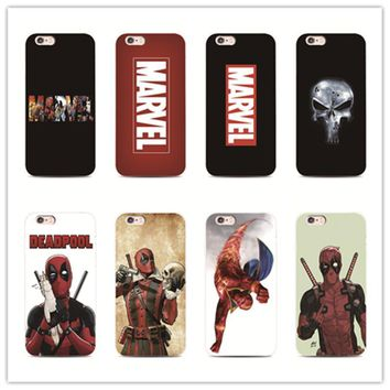 Deadpool Dead pool Taco  Superhero marvel anime phone case for iPhone 7 plus 4 4s 5 5s 5c se 6 6s iPhone7 for Samsung S5 S4 S6 S7 S7edge funny AT_70_6