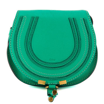 "Chloé Jade Green Round Small ""Marcie"" Bag"